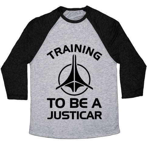 Training To Be A Justicar Baseball Tee