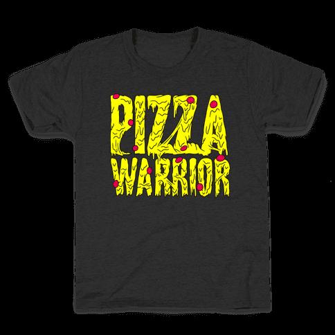 Pizza Warrior Kids T-Shirt