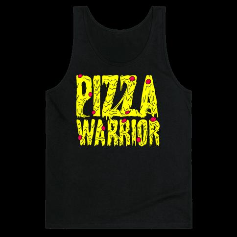 Pizza Warrior Tank Top