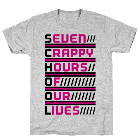 The Meaning of School - T-Shirt - HUMAN