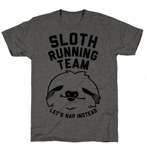 Sloth Running Team Tee