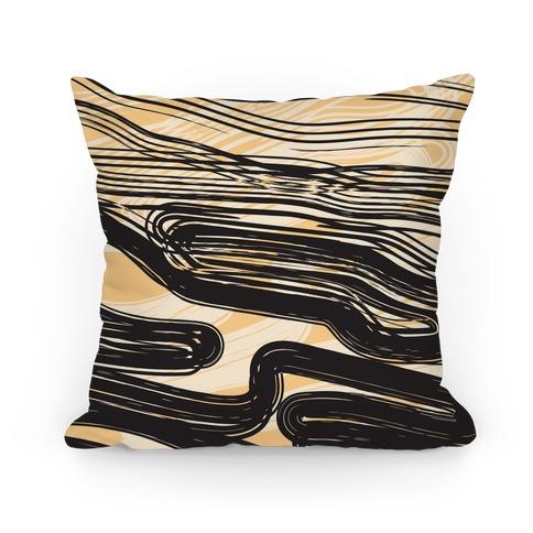 Ink Swipe Pillow Pillow