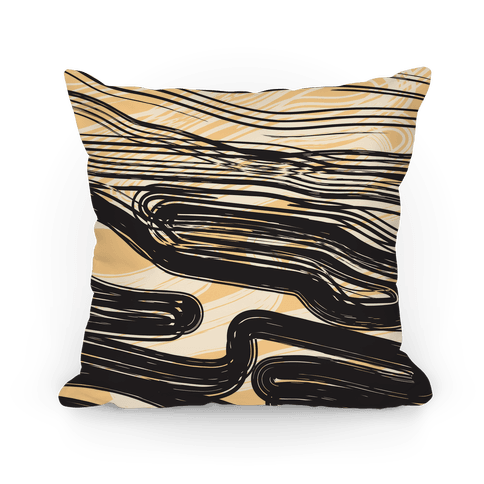Ink Swipe Pillow