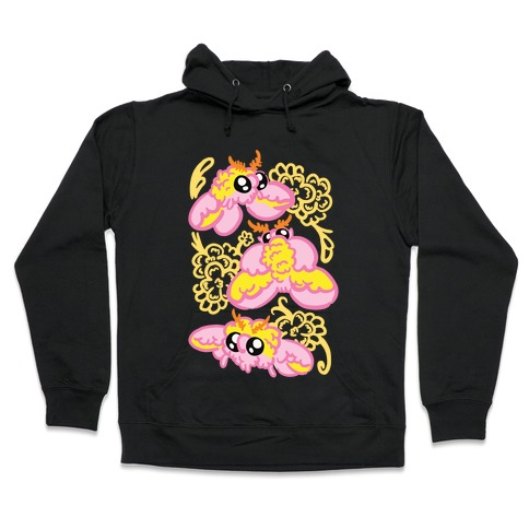 Rosy Maple Moths Hooded Sweatshirt