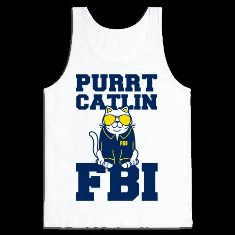 Purrt Catlin FBI Tank Top