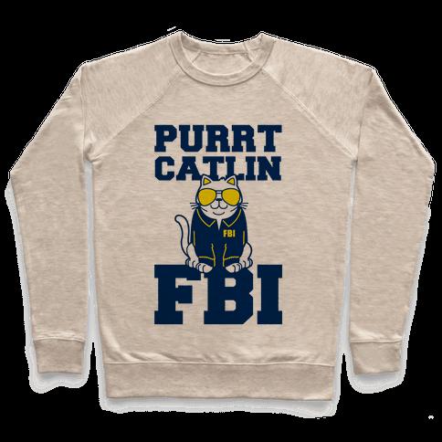 Purrt Catlin FBI Pullover