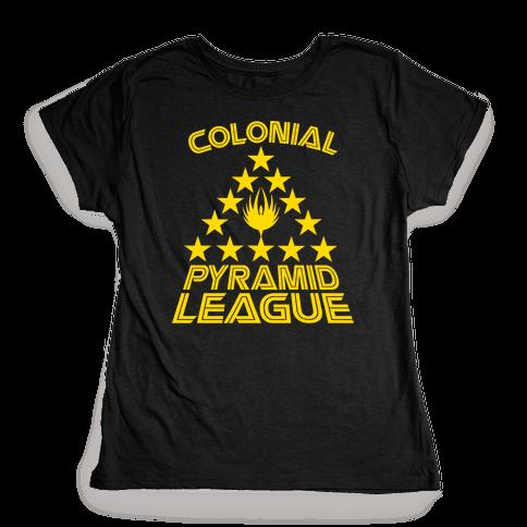 Colonial Pyramid League Womens T-Shirt
