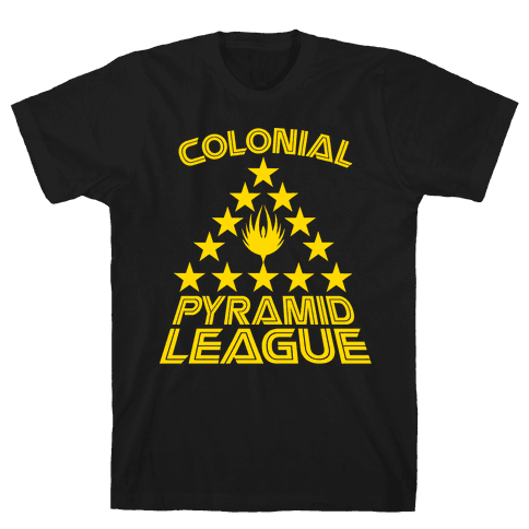 Colonial Pyramid League Mens T-Shirt