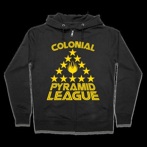 Colonial Pyramid League Zip Hoodie