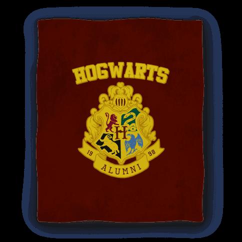 Hogwarts Alumni Crest Blanket Blanket