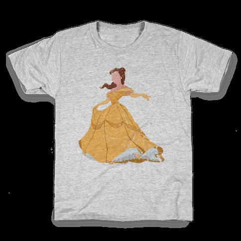 Beautiful Princess Kids T-Shirt