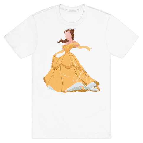 Beautiful Princess Mens T-Shirt