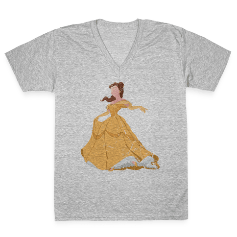 Beautiful Princess V-Neck Tee Shirt