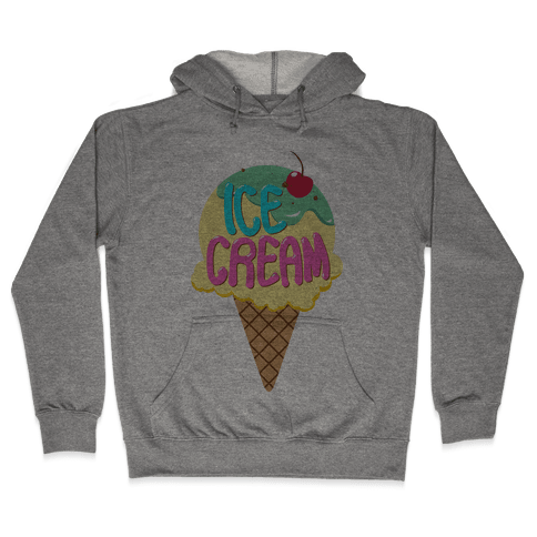 Ice Cream (Tank) Hooded Sweatshirt