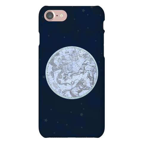 Vintage Constellation Map Phone Case
