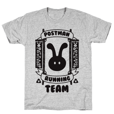 Postman Running Team Mens T-Shirt