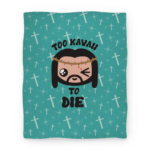 Kawaii Jesus-Kun Blanket