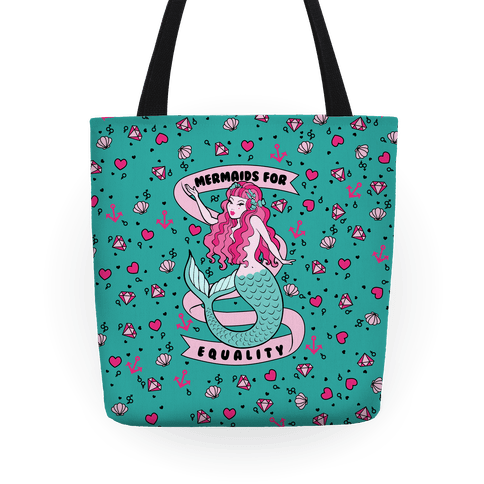Mermaids For Equality Tote