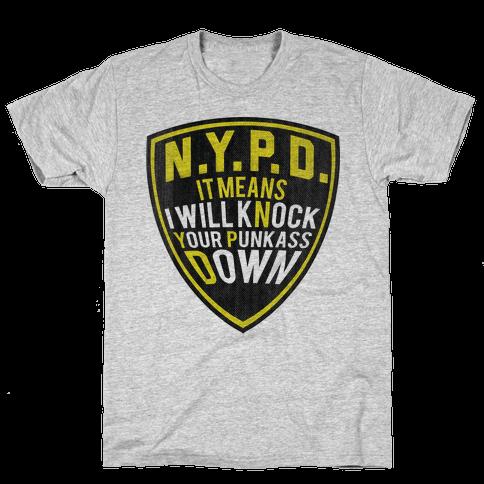 NYPD Mens T-Shirt