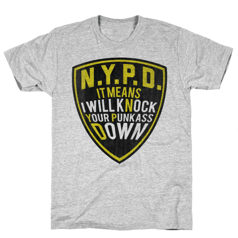 NYPD Mens T-Shirt
