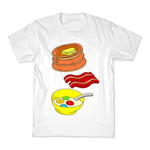 Balanced Breakfast Kids T-Shirt