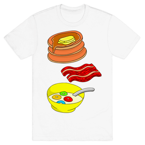 Balanced Breakfast Mens T-Shirt