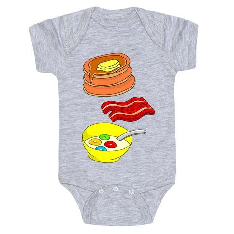 Balanced Breakfast Baby Onesy