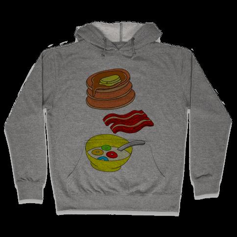 Balanced Breakfast Hooded Sweatshirt