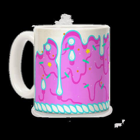 Pink Cupcake Icing Coffee Mug