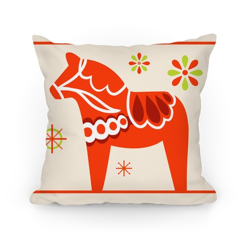 Dala Horse Pillow