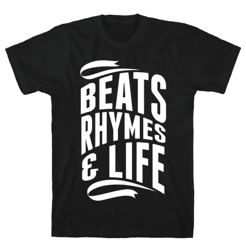 Beats, Rhymes And Life Mens T-Shirt