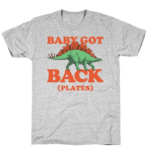 Baby Got Back Plates T-Shirt