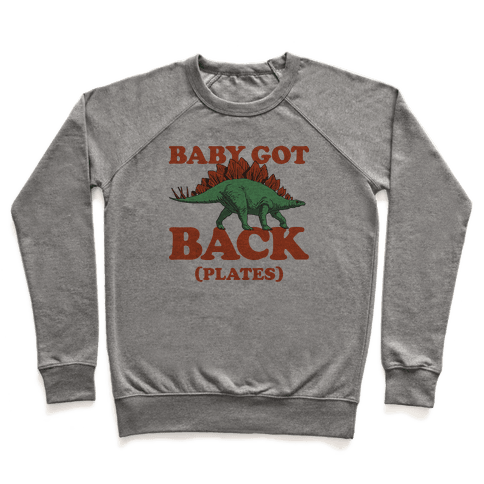 Baby Got Back Plates Pullover