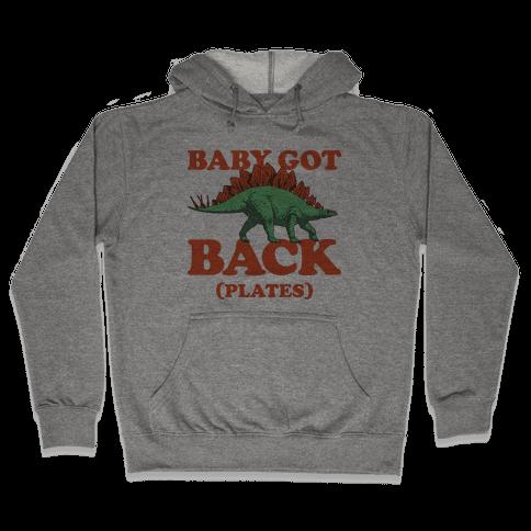 Baby Got Back Plates Hooded Sweatshirt