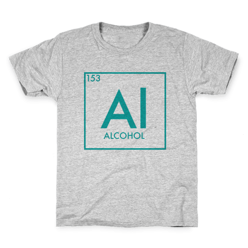 Alcohol Science Kids T-Shirt
