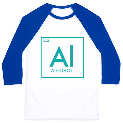 Alcohol Science Baseball Tee