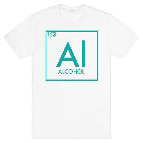 Alcohol Science Mens T-Shirt