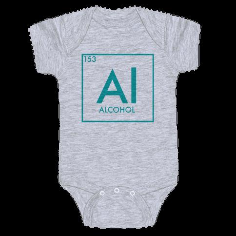 Alcohol Science Baby Onesy