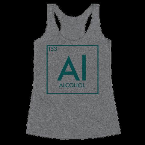 Alcohol Science Racerback Tank Top