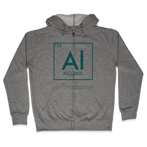 Alcohol Science Zip Hoodie