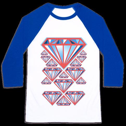 American Diamonds Baseball Tee