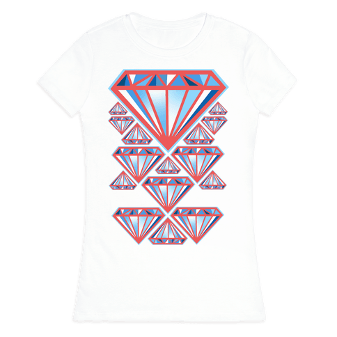 American Diamonds Womens T-Shirt