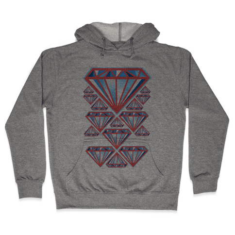 American Diamonds Hooded Sweatshirt