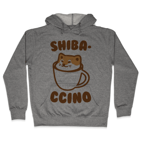 Shibaccino  Hooded Sweatshirt