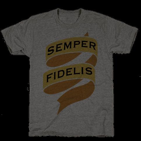 Semper Fidelis Mens T-Shirt