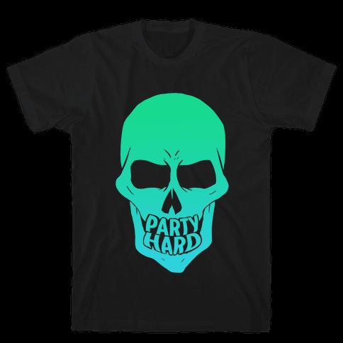 Party Hard Mens T-Shirt