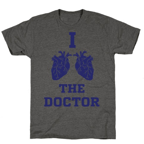 I Heart The Doctor T-Shirt