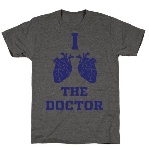 I Heart The Doctor Mens/Unisex T-Shirt