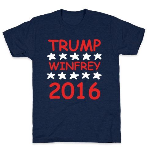 Trump Winfrey 2016 Mens T-Shirt