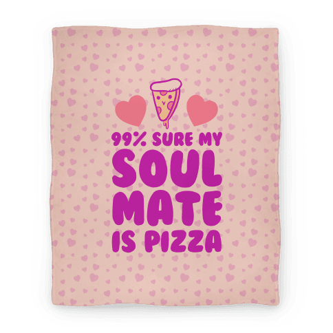Pizza Soulmate Blanket